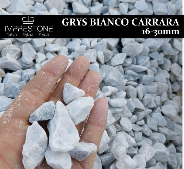GRYS BIANCO CARRARA 16-30 Grysy Dekoracyjne