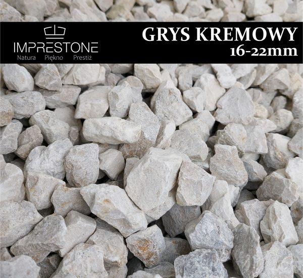GRYS KREMOWY 16-22mm Grysy Dekoracyjne