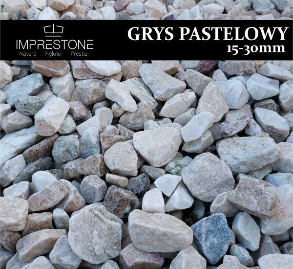 GRYS PASTELOWY 16-30mm Grysy Dekoracyjne