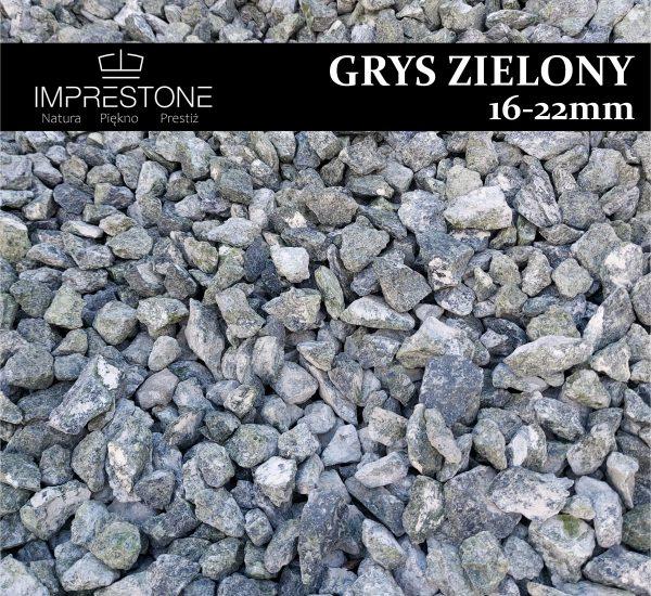 GRYS ZIELONY 8-16mm Grysy Dekoracyjne