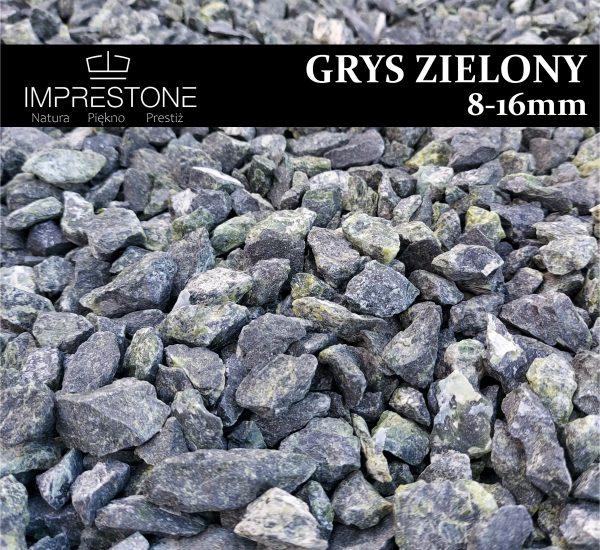 GRYS zielony 16-22mm Grysy Dekoracyjne