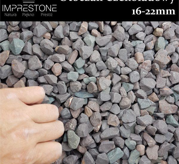 Otoczak Czekoladowy 16-22mm Kamień otoczony
