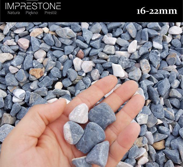 Otoczak Niebieski 16-22mm Kamień Otoczony